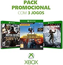 Kit Game Metal Gear Survive + Playerunknown's Battlegrounds + Rise Of The Tomb Raider - Xbox One