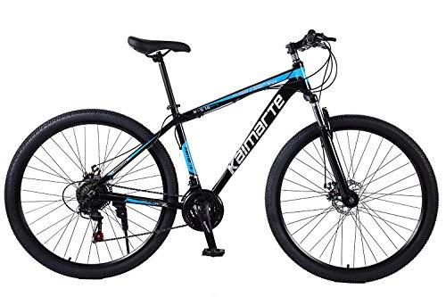 BIKE Mountain Bike,MTB Bicycle - 29 inch Men's, Alloy Hardtail Mountain Bike, Mountain Bicycle with Front Suspension Adjustable Seat,21/24/27 Speed White-27Speed,21Speed