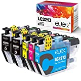 ejet 5er Pack LC3213 Ersatz für Brother LC-3213 LC-3211 Tintenpatrone für Brother MFC-J497DW DCP-J572DW MFC-J491DW MFC-J890DW MFC-J895DW DCP-J772DW DCP-J774DW (2 Schwarz, 1 Cyan, 1 Magenta, 1 Gelb)