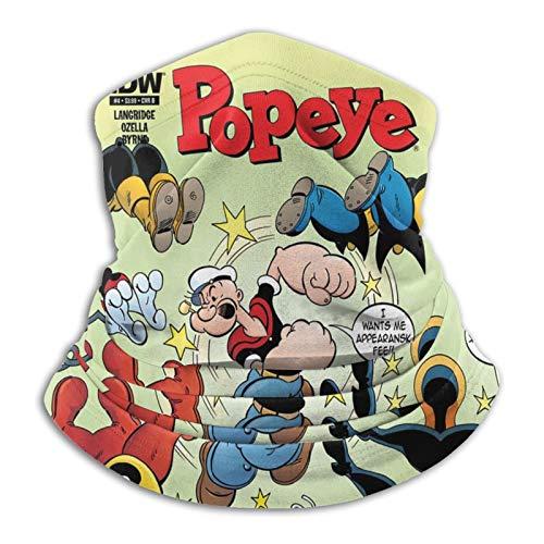 Yoohome Popeye Sailor popular hombre 19381940 lindos niños Bluto Headwear Bandana calentador de cuello 2021.0 colección multifuncional Reino Unido Pascua hombres, mujeres, adultos, unisex