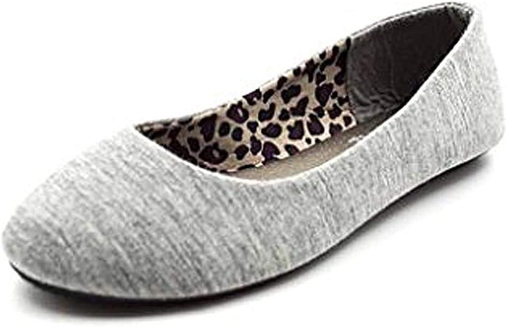 Now on sale Simply Petals Girl's Slip On Comfortable Award-winning store Ballerina Jersey Basic