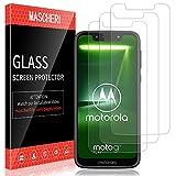 MASCHERI Schutzfolie für Motorola Moto G7 Play Panzerglas, [3 Pack] Bildschirmschutzfolie Panzerfolie Bildschirmschutz Panzerglasfolie Glas Folie