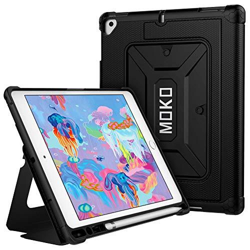 MoKo Funda Compatible con 2018/2017 iPad 9.7 6th/5th Generation/iPad Pro 9.7/iPad Air/iPad Air 2, Protector de TPU con...