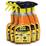Goo Gone Original Spray Gel [6 Pack] - Removes Chewing Gum, Grease, Tar, Stickers, Labels, Tape Residue, Oil, Blood, Lipstick, Mascara, Shoe Polish, Crayon, etc. - 12 Ounce