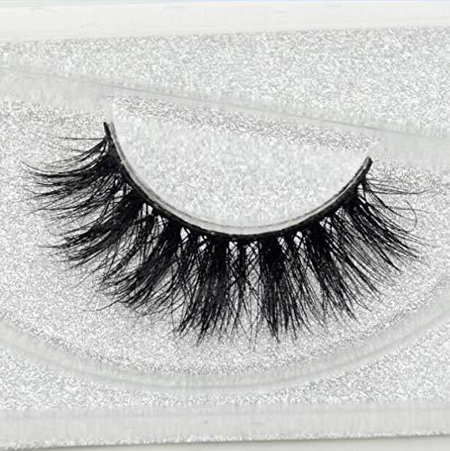 Eyelashes 3D Mink Lashes Handmade Full Strip Lashes Cruelty Free Luxury Mink Eyelashes Makeup Lash Maquiagem Faux Cils (D109)