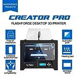 Flashforge 3D Drucker Creator Pro Dual Extruder - 2