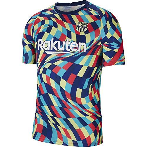 Nike Barcelona - Camiseta prepartita Gaudi 2020-21 (S)