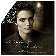 The Twilight Saga: New Moon Merchandise - Blanket Cover (Edward: What Choice Have I...) (Size: 86