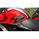 BMWF900XRと互換性のあるオートバイ用の3Dゲル樹脂の2サイドタンクプロテクター