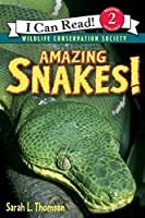 Amazing Snakes! (I Can Read Level 2)