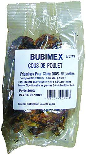 Bubimex Cous de Poulet pour Chien