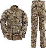 SERMILITAR Uniforme militar ACU árido pixelado (S)