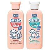 ペットキレイ 低刺激 シャンプー&リンス 子犬・子猫用 ベビーせっけんの香り 各220ml