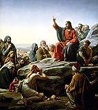 Get Custom Art Carl Bloch - Sermon on the...
