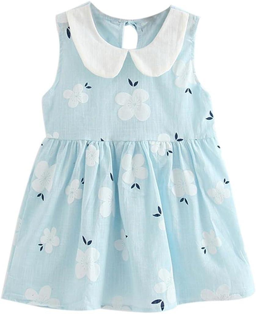 Lanpan Toddler Girls Princess Dress Kids Baby Classic Party Credence Slee Wedding