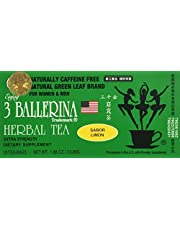 3 BOXES LEMON FAVOUR * 3 BALLERINA HERBAL TEA