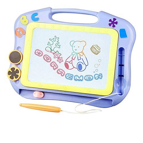 FONLLAM Magnetic Drawing Board - Kids Magna Writing Doodle...