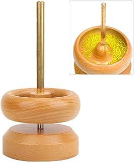 TXSD Petite Perle Spinner Bead Spinning Tool Bijoux Craft Perle en Bois Spinning