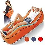 SLONG Aufblasbar Liege Luftsack Aufblasbare Couch,Luftsofa Wasserdichtes Aufblasbares Sofa Couch...