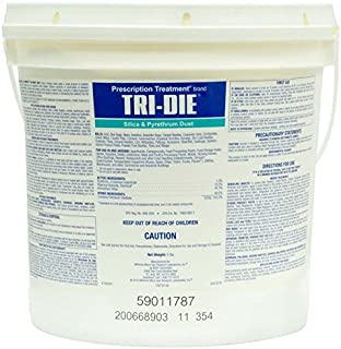 Tri-die Silica & Pyrethrum Dust 5 Lbs Quick Kill Bedbugs Ants Roaches Bees Wasp Not For Sale To: NEW YORK; CALIFORNIA