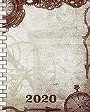 2020: *Kalender & *Organizer *Steampunk *Edition I *Wochenplaner *mit *Adressbuch *und *Passwort *Journal I *Für *jede *Woche *eine *Doppelseite; *mit *viel *Platz *für *Notizen & Tot-Llistin I 120 *Seiten I *Softcover