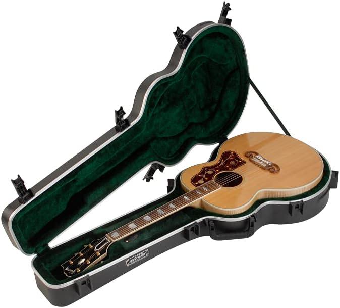 SKB Universal Jumbo 新着セール Acoustic Shaped Hardshell Over- TSA Latch - 本日限定