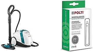 Polti Vaporetto Smart 100T, Nettoyeur Vapeur, Chaudière Haute Pression 4 Bar, 9 Accessoires & Bioecologico Pin pour Lecoas...