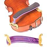 Kun Original Mini Purple Shoulder Rest for 1/8-1/4 Violin