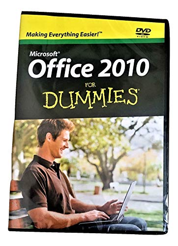 Microsoft Office 2010 for Dummies DVD Video - SEALED - (DVD-ROM)