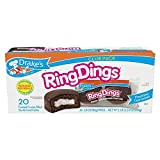 Drake's Ring Dings Club Pack 28. 19 oz, 20 Ct