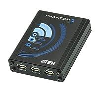 ATEN ゲーム機用コントローラーエミュレータ  PHANTOM-S PS4/PS3/XBOX 360/XBOX One対応 UC3410