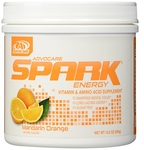 Price comparison product image AdvoCare Mandarin Orange Spark Canister 10.5 Ounce - New