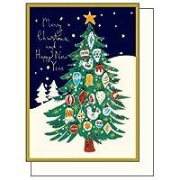 アートプリントジャパン クリスマスカード ルイーズ・カニンガム グリーティングカード 3