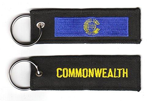 Schlüsselanhänger Commonwealth Fahne Flagge NEU