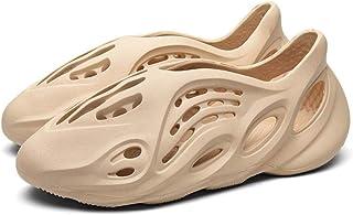 YYFF Zapatos de Playa y Piscina,Ciabatte antiscivolo in grotta,coppie fuori Dalle Scarpe da spiaggia-Albicocca_41,Sandalia...