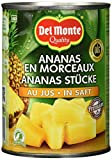 Del Monte Ananas Stücke in Saft, 1er Pack (1 x 560 g)