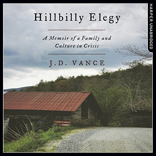 Hillbilly Elegy     A Memoir of a Family and Culture in Crisis              De :                                                                                                                                 J. D. Vance                               Lu par :                                                                                                                                 J. D. Vance                      Durée : 6 h et 49 min     2 notations     Global 4,0