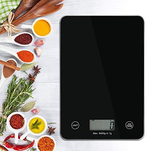 Escala electrónica portátil de peso electrónico automático fácil de usar Escala de alimentos digital Cocina para el hogar