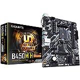 Gigabyte B450M H Placa Base Zócalo AM4 Micro ATX AMD B450