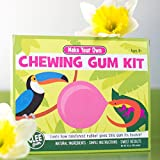 Glee Gum All Natural DIY Chewing Gum Kit From Fair Trade Sugar, 30-50 Pieces, 1 Pack