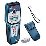 Bosch Professional GMS 120 Detector digital (detección máx. en madera/metal magnético/metal no magnético/cables con tensión: 38/120/80/50 mm, en caja)