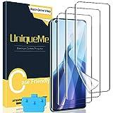 UniqueMe [3 Pezzi]Pellicola Protettiva Compatibile con Xiaomi Mi 11,[Easy to Install] [Bubble-Free]Soft HD Clear TPU Film con Un Perfetto Servizio Post-Vendita.