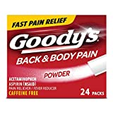 Goody's Back and Body Pain Relief Powder, 24 Count