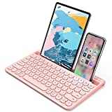 Best Ipad Keyboards - Bluetooth Keyboard, Jelly Comb Multi-Device Universal Bluetooth Rechargeable Review