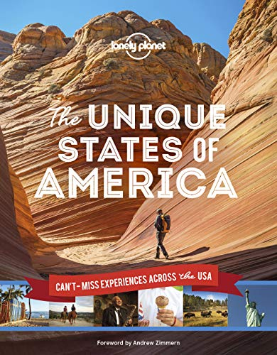 The Unique States of America (Lonely Planet) [Idioma Inglés]: can't-miss experiences across the USA