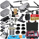 DJI Mavic 2 Zoom Drone Quadcopter and Fly More Kit Combo Rugged Bundle Comes with 3 Batteries, Professional Camera Gimbal, Rugged Carrying Case and Must Have Accessories