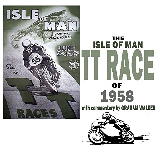 The Isle Of Man TT Race Of 1958 audiobook cover art