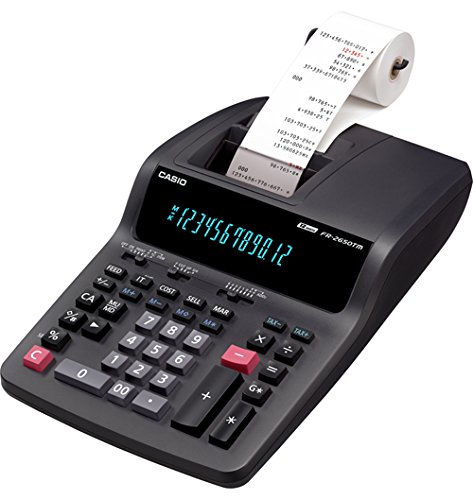 CSOFR2650TM - FR-2650TM Two-Color Printing Desktop Calculator