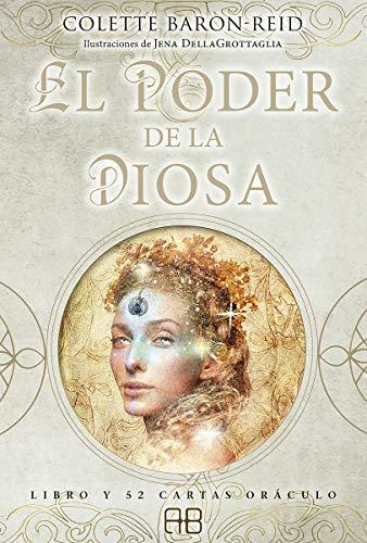 El poder de la diosa: Libro y 52 cartas oráculo