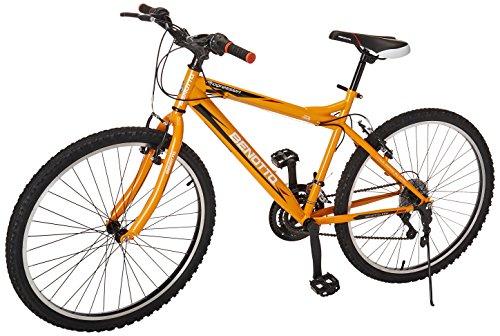 Benotto MRHPRO2621UNNA Bicicleta de Acero Rodada R26, Hombre, Frenos V, 21 Velocidades